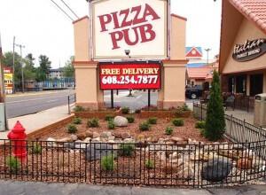 pizza pub exterior