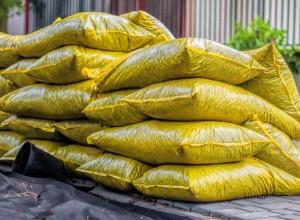 Bagged materials, bulk materials, Landscape materials,