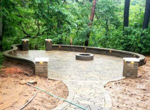 Pavers and Retaining walls